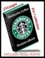 STARBUCKS ULTIMATE RECIPE EBOOK With RESELL RIGHTS 8 in 1 COLLECTION