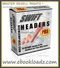 Swift Headers Pro With Master Resell Rights ! 25 Instant -  Ready To Go For your Mini Site !