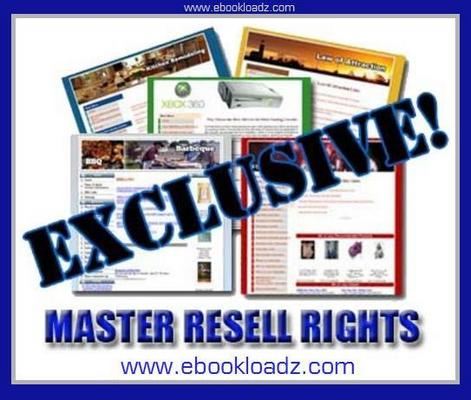 Product picture 85 Exclusive Niche Content Websites With Master Resell Rights