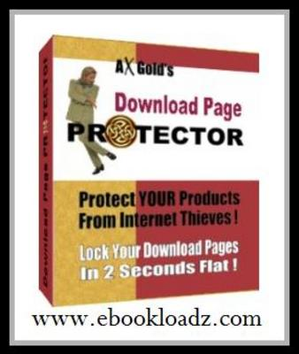 Product picture Download Page Protector - Easy Way To Protect YOUR Products From Internet Thieves! With MASTER RESELL RIGHTS !!