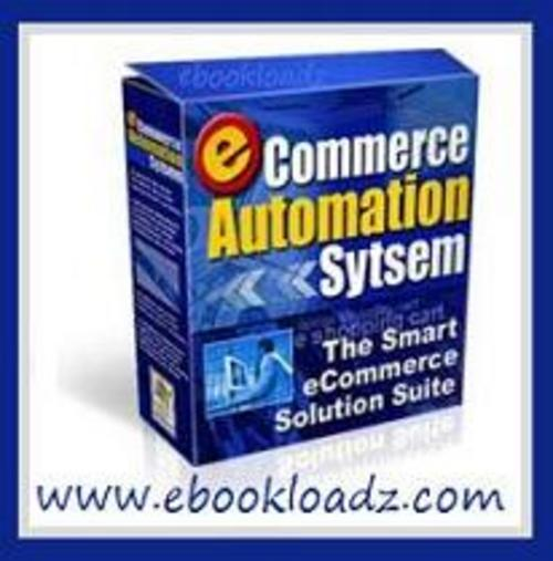 Product picture E-commerce Automation System, E-mail, Shopping Cart & Autoresponder Script