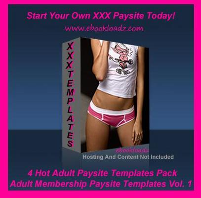 Product picture Adult Membership Paysite Templates V.1 Master Resell Rights