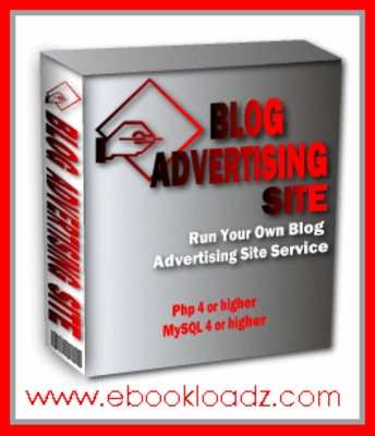 Product picture Run Your Own Blog Advertising Site With Master Resell Rights ! NEW !!
